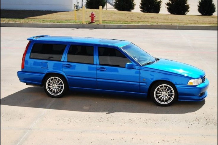 #Volvo V70R...don't judge but I like this car
