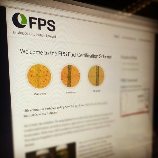 FPS Fuel Accreditation Scheme Website Screenshot