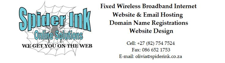 We provide cost effect Website and Email solutions including domain name registrations from R50 per month, and an option to join our business directory from R50 per year for a web listing to R150 per year for a paragraph and logo.