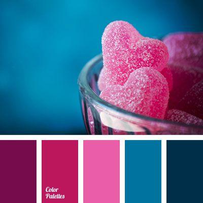 1000 ideas about pink color schemes on pinterest color - Dark blue room color scheme ...