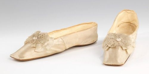 Wedding Slippers    1835-1845