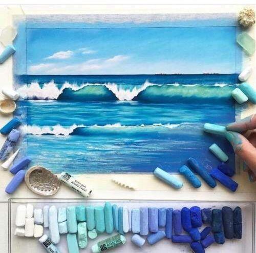 25 Best Ideas About Pastel Artwork On Pinterest Chalk