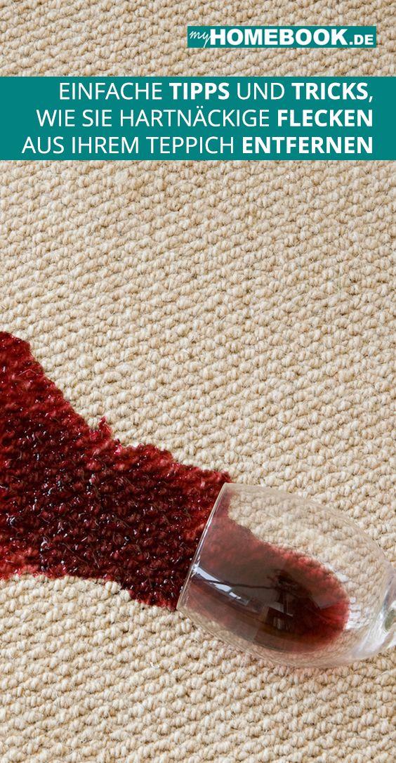 einfache tricks fuer hartnaeckige flecken im teppich