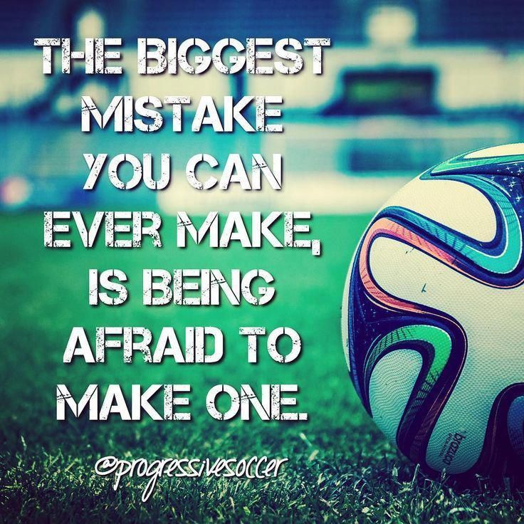 Take A Risk Soccer Inspirational Soccer Quotes Soccer Quotes Sport Quotes