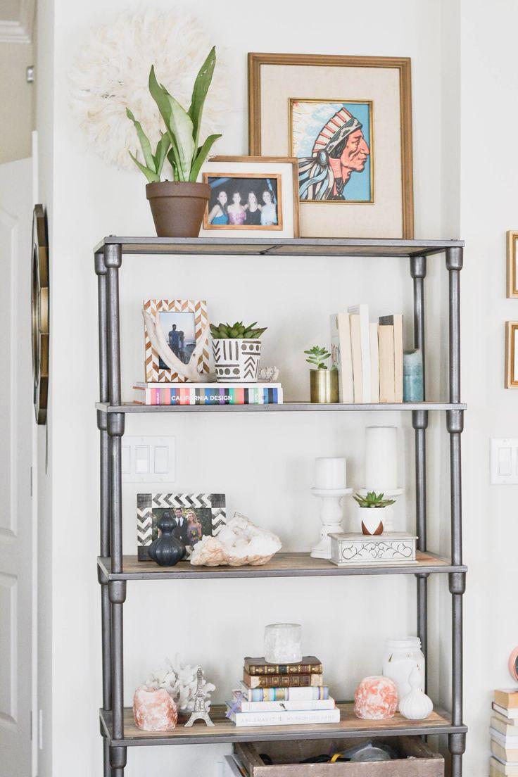 25 Best Ideas About Industrial Bookshelf On Pinterest Pipe Bookshelf Diy Industrial