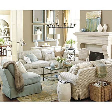 Beige Living Room Ideas 7