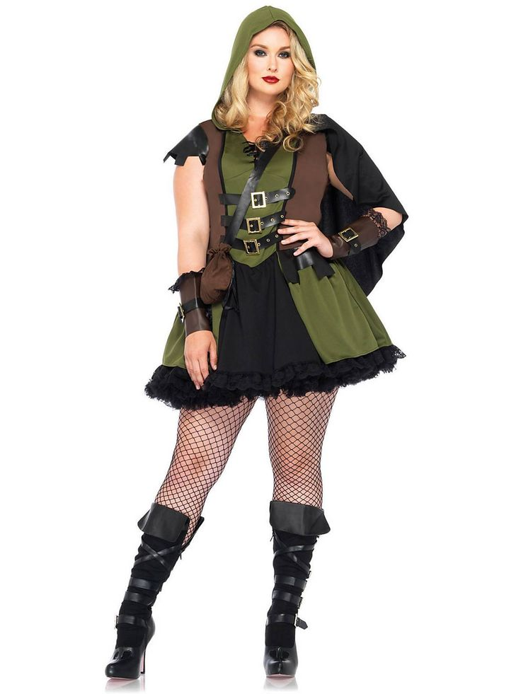 Darling Robin Hood Plus Size Costume | Wholesale Fairytale Costumes for Adults