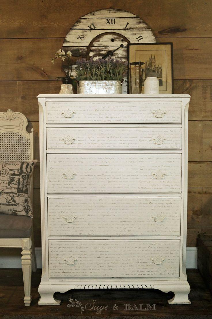 The 25+ best White antique dresser ideas on Pinterest | Chalk paint dresser,  Chalk paint furniture and Chalk painting furniture