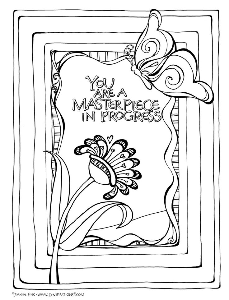 52 best Doodles images on Pinterest Doodles, Coloring pages and - new coloring page fig tree