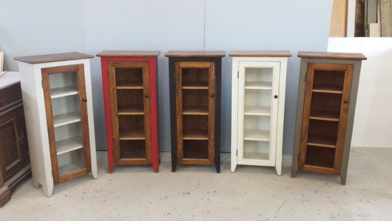 Jelly Cabinet / Kitchen Cupboard / One Door by HarvestTreasuresInc