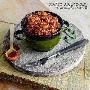 klasyczny gulasz wieprzowy