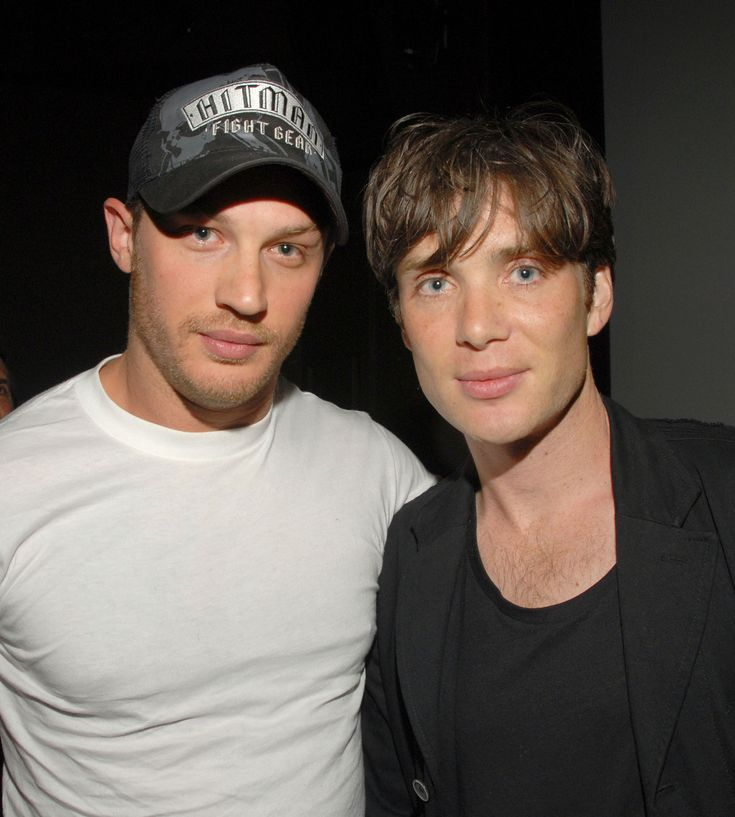 Tom Hardy and Cillian Murphy - Have I mentioned how crazy excited I am for the second series of Peaky Blinders???? #WellIAm