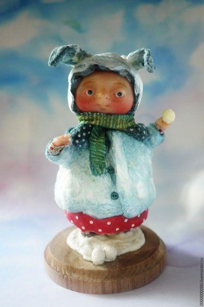 Коллекционные куклы ручной работы. Ярмарка Мастеров - ручная работа. Купить зая. Handmade. Подарок, подарок на любой случай
