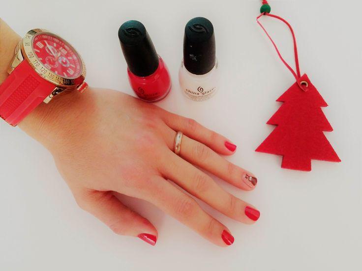 We love Christmas: Christmas Nails - Violetmimosa