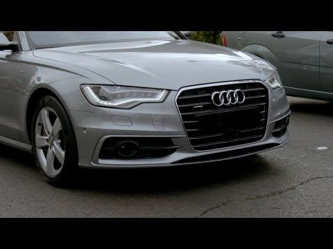 ► Audi's automatic driving in traffic jams - YouTube