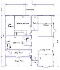 Floor Plans With Dimensions In Meters Google Search