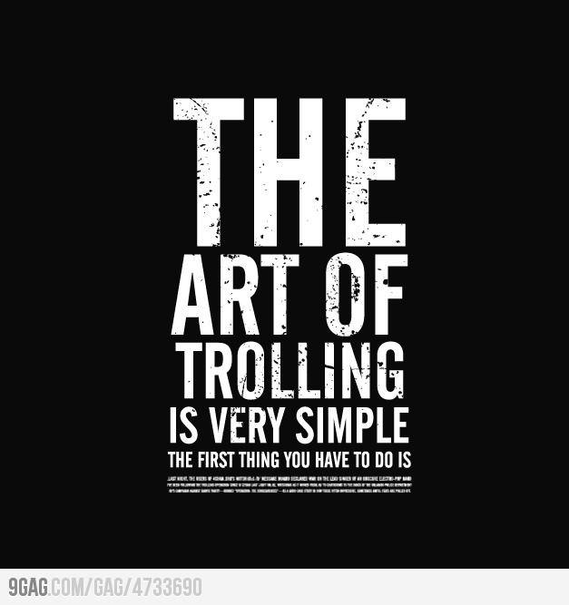 Arte de 'Trolling'