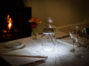 consol Lamp in Weckpot van GReen Evelien