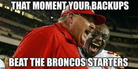 BEAT THEM IN THEIR HOUSE!!! CHIEFS   27     DONKEYS   24