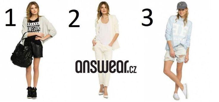 Outfity, které jsou sestavené! http://1url.cz/daxi  #outfit #inspiration #answear #answearcz #spring