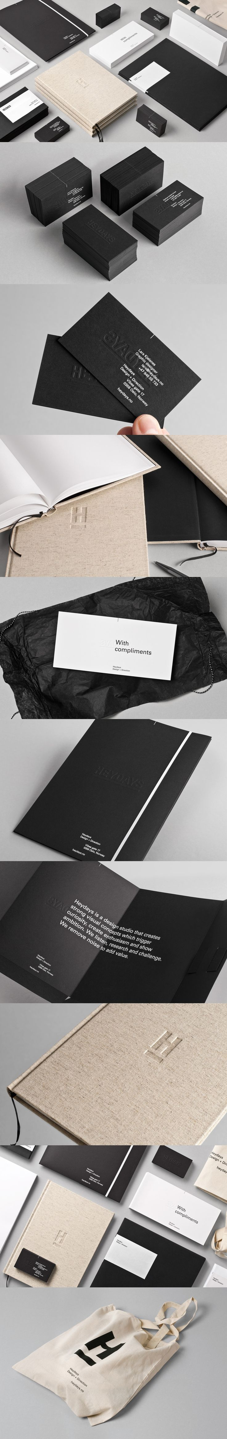 Unique Branding Design, Heydays #Branding #Design (http://www.pinterest.com/aldenchong/)