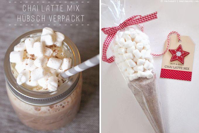 Last Minute Geschenk: Chai Mix