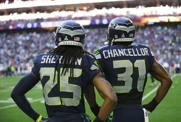 "Injuries are part of the game when you play in the NFL. But the injuries that Kam Chancellor, Richard Sherman and Earl Thomas played with in Super Bowl XLIX on Sunday ""was a heroic thing,"" as coach Pete Carroll put it."