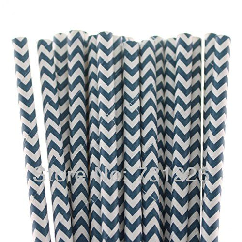 Navy Blue Chevron Paper Plates and Napkins on Flipboard  sc 1 st  Pinterest : blue paper plates and napkins - pezcame.com