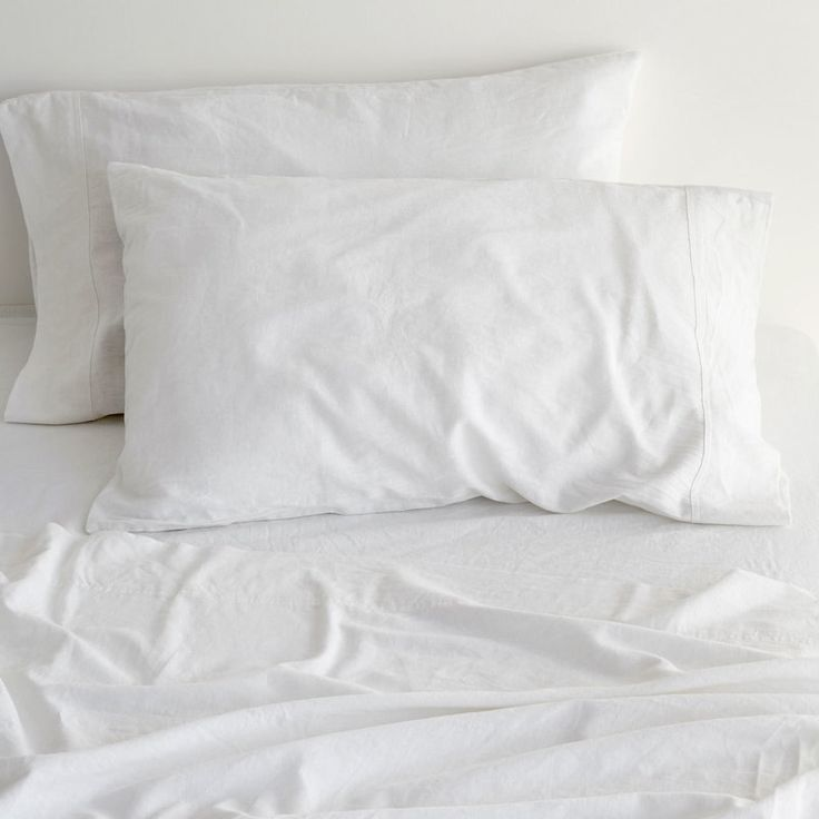 Canningvale King Sogno Linen Cotton Bed Sheet Set | Buy King Sheet Sets