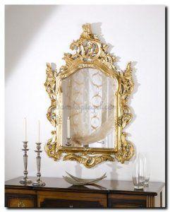 Spiegel Camila is een echte Venetiaanse spiegel, wordt tegenwoordig veel gebruikt als eye catcher in een modern interieur. Geeft een echt wouw effect! Maar ook in oude herenhuizen is Camila helemaal thuis! http://www.barokspiegel.com/detail/4451195-7-0115-l-spiegel-camila