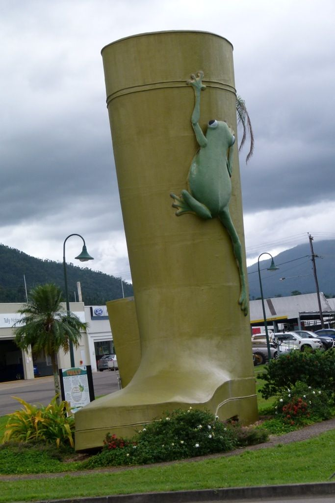 The Golden Gumboot, Tully, Queensland stands at 7.9m.