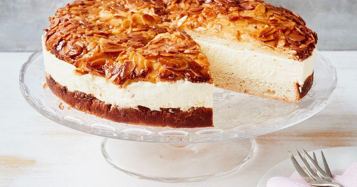 Bienenstich mit Pudding-Creme