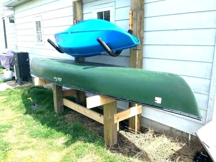 Canoe Garage Storage Kayak Best Canoe Garage Storage - Trialandstyle.com/editor | Stockage de ...
