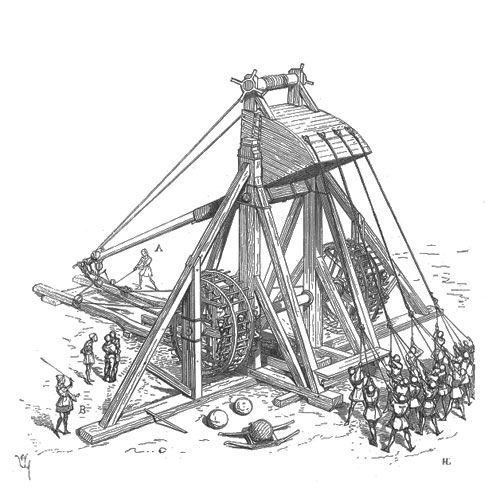 Geography Worksheets For Middle School on medieval trebuchet history