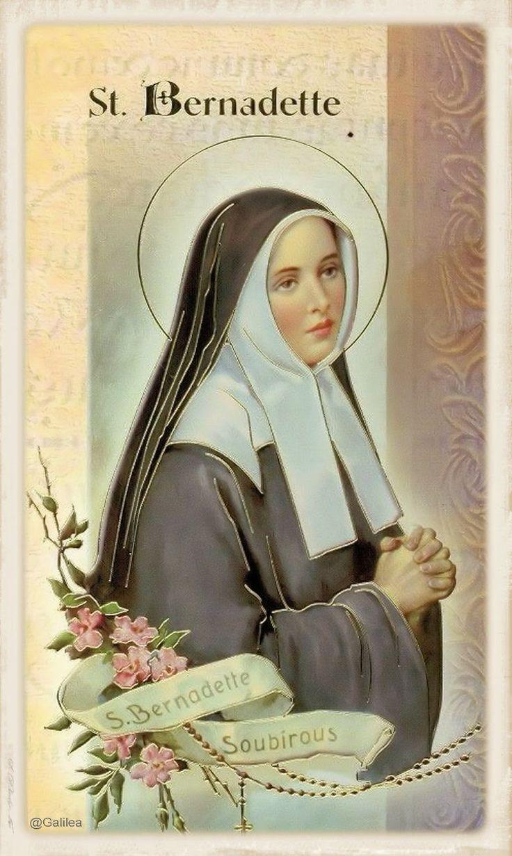 Santa María, Madre de Dios y Madre nuestra: Santa Bernardita Soubirous, 16 de Abril