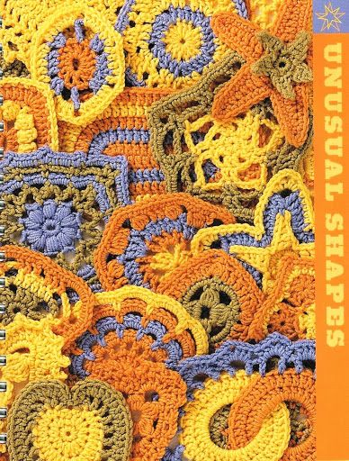Beyond the Square Crochet Motif - aew Suntaree - Picasa Web Albums...FREE BOOK,DIAGRAMS AND WRITTEN PATTERNS FOR MOTIFS!!