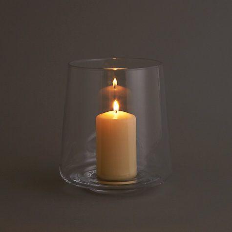 Buy John Lewis Contemporary Hurricane Lamp, Small Online at johnlewis.com