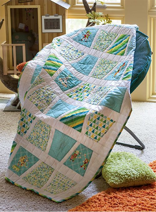 Tumbler quilts may be simple, but there's a lot to them. You may surprise yourself by finding that you like this quilt block more than you thought. Learn about the Tumbler's rich history and see some awesome Tumbler quilts.