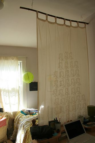 Best 25 Fabric Room Dividers Ideas On Pinterest Space