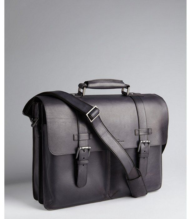 Black Leather Briefcase by Kenneth Cole. Buy for $309 from Bluefly