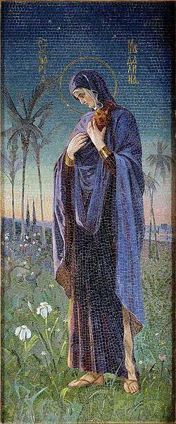 Мария Магдалина. Мозаика Н.К. Бодаревского, 1895-1907, Спас на крови, Санкт-Петербург.