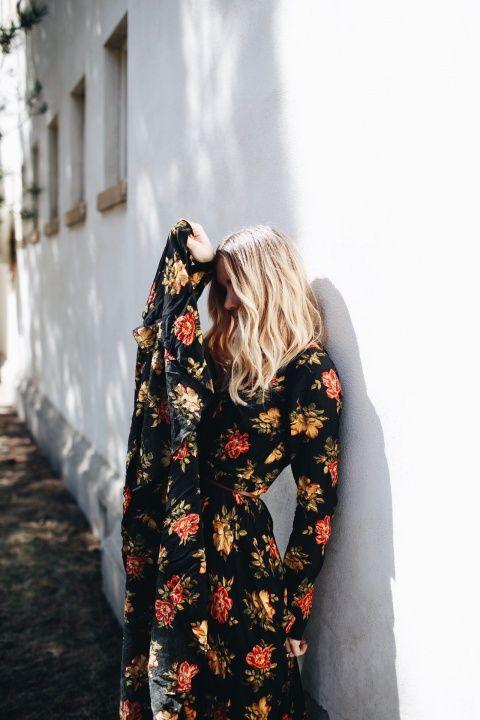 Floral festival dress | VSCO