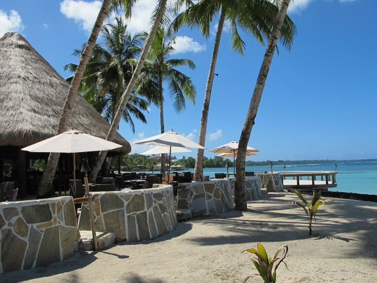 A perfect spot to take in the fabulous view, at Coconut's Beach Club Resort & Spa, Samoa  www.islandescapes.com.au