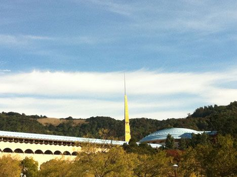 Marin County Civic Center. I used to frequent this place regularly when I lived in the Bay area. Designed by Frank Lloyd Wright. Love his stuff.