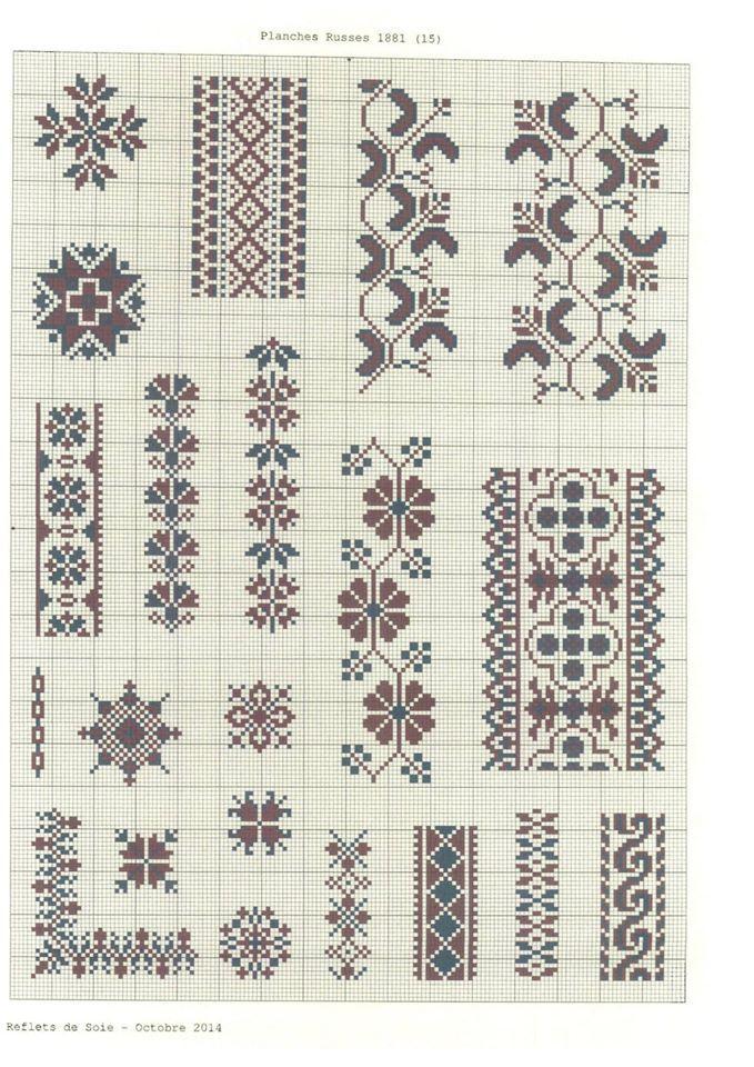 Сборник малоросских (украинских) узоров. А.М.Махно #16