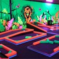 King Of Prussia Mall Welcomes Glowgolf, An Indoor Glow-In-The-Dark Mini Golf Course