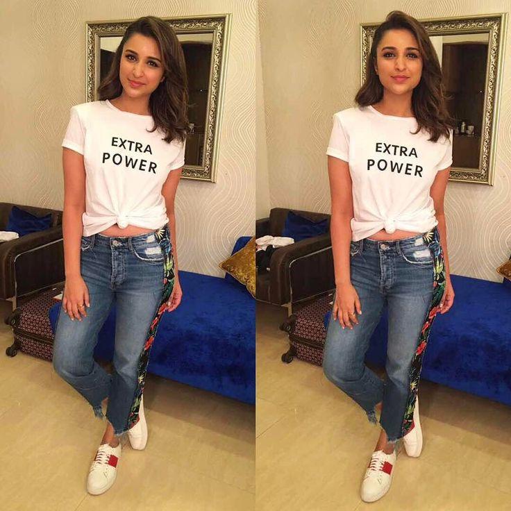 "136.4k Likes, 746 Comments - Parineeti Chopra (@parineetichopra) on Instagram: ""KABOOM!  Thank you @akshaykumar for this amazing initiative. Self defence is crucial. GIRL POWER…"""