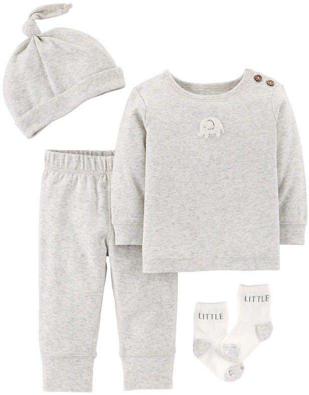 f9cb63f45 Carter s Little Baby Basics 4-pc. Layette Set-Baby Unisex