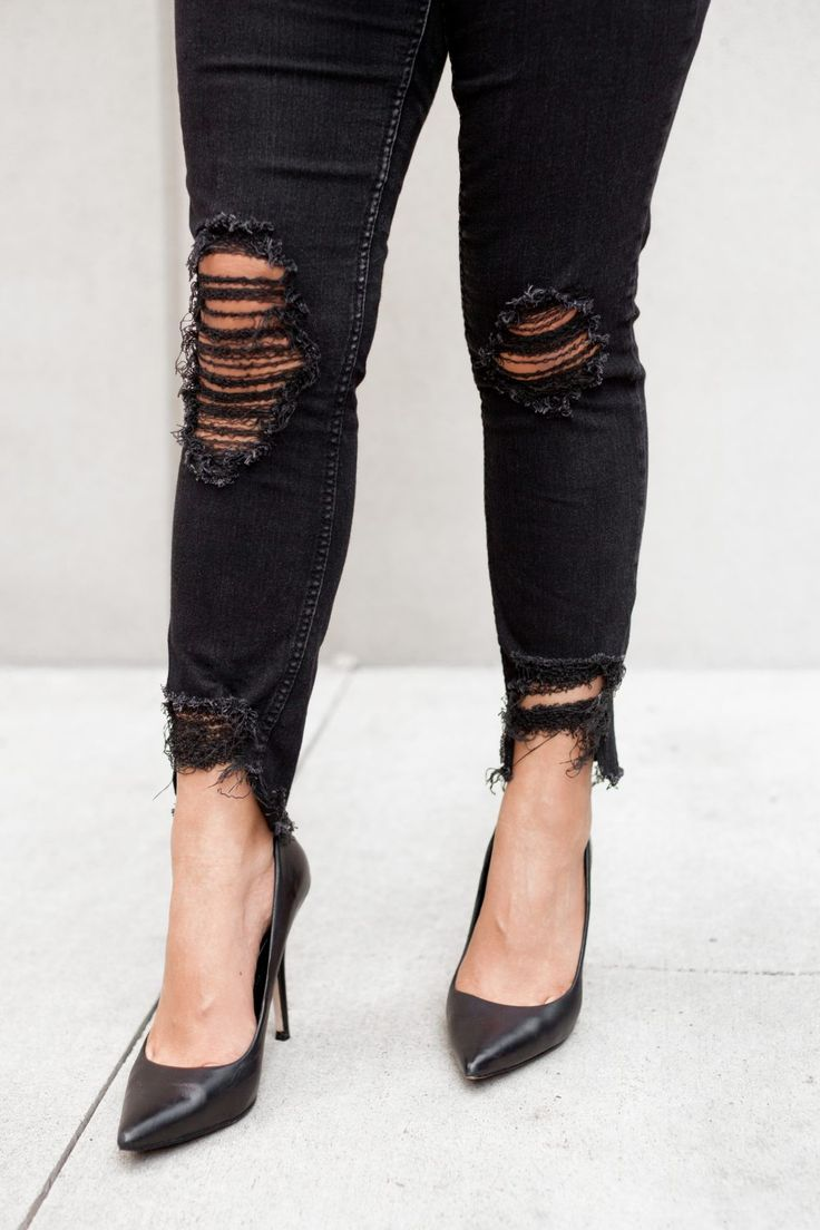 3 Easy Ways to Make DIY Distressed Jeans - THE BALLER ON A BUDGET