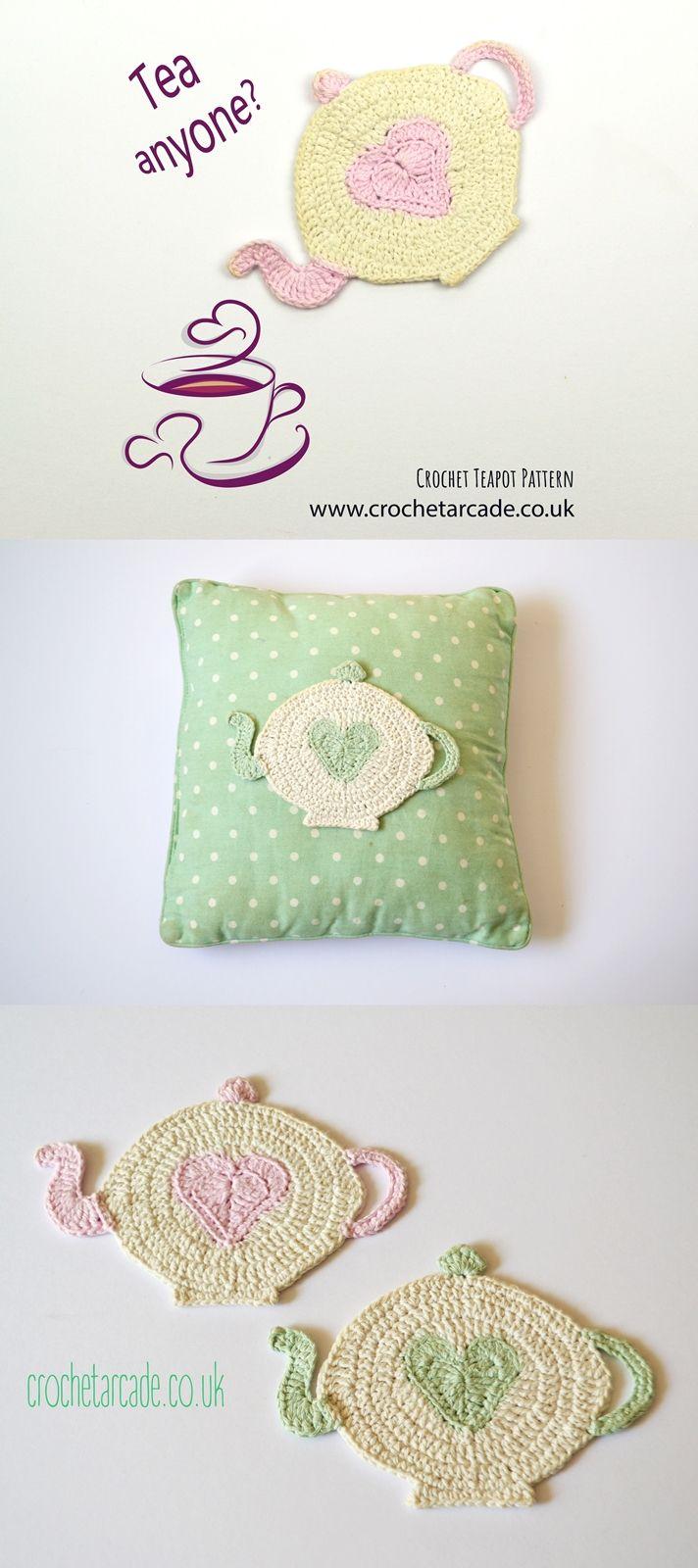 Cutsey Crochet Teapot Pattern Teapots Crochet Crochet Gifts